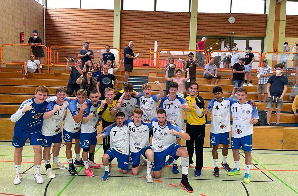 Spielbericht U19: TSV Niederraunau – TVG Junioren Akademie 20:24 (8:9)